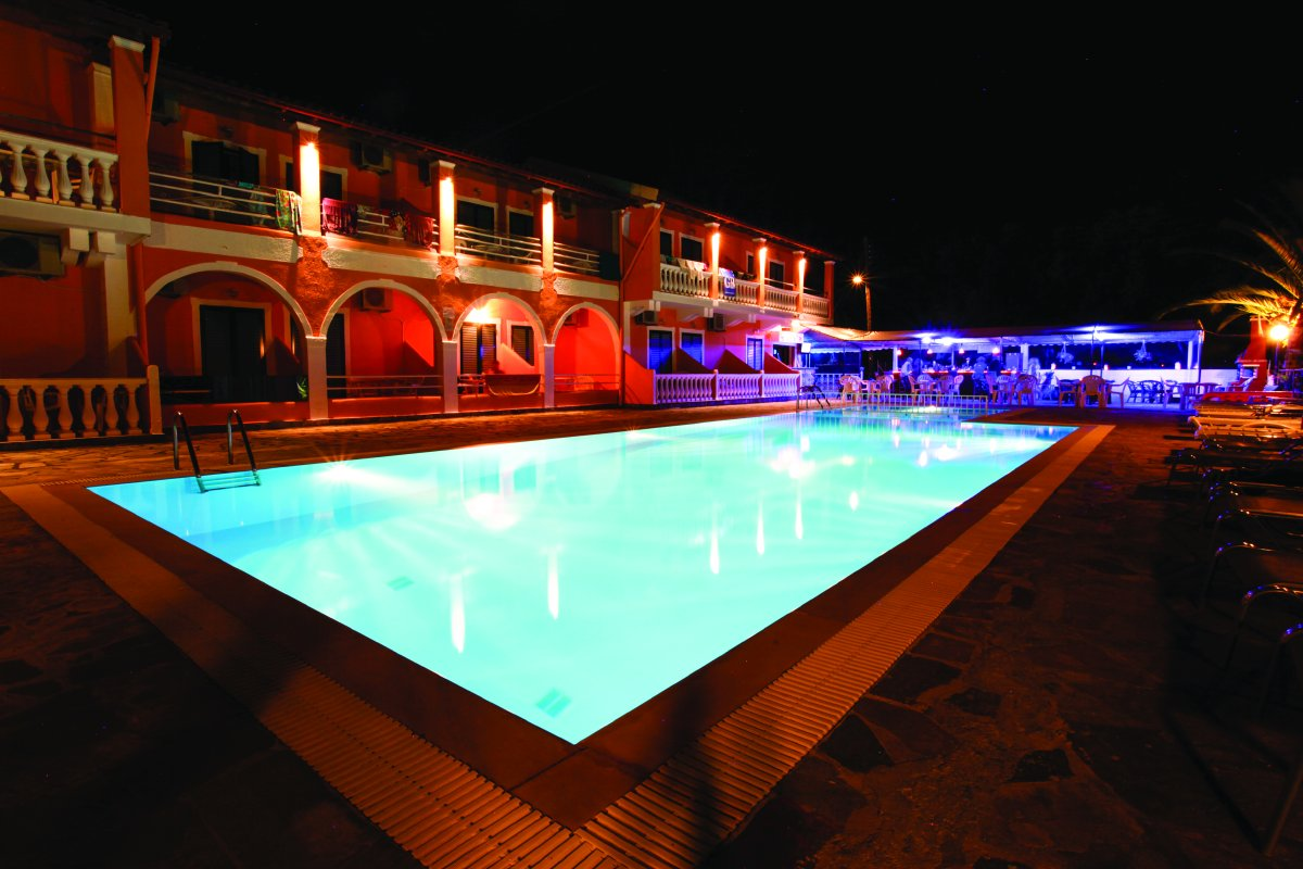 Pool At Night 1